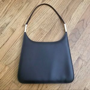 Brown Vintage Flat Sleek Chic Shoulder Bag
